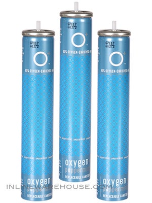 Oxygen + Refillable Canisters Peppermint 3pk