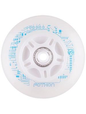 Powerslide Fothon LED Light Up Inline Wheels White