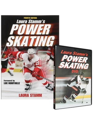 Power Skating Book + DVD by Laura Stamm