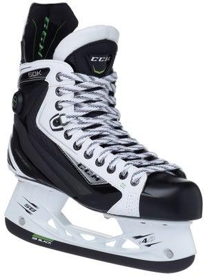 CCM RibCor 50K White LE Pump Ice Hockey Skates Sr