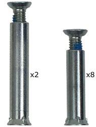 Rollerblade Inline Skate Replacement Axles 8mm ALPHA