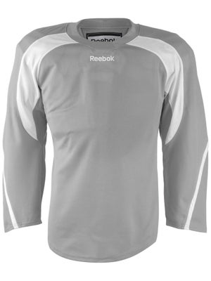 Reebok Edge Hockey Jersey Grey & White Jr
