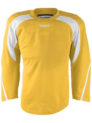 Reebok Edge Hockey Jersey Sunflower & White Jr