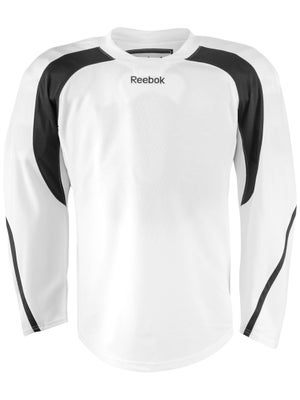 Reebok Edge Hockey Jersey White & Black Jr