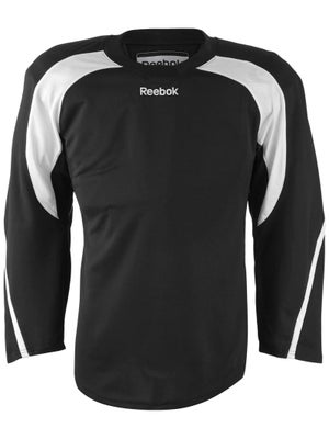 Reebok Edge Hockey Jersey Black & White Sr