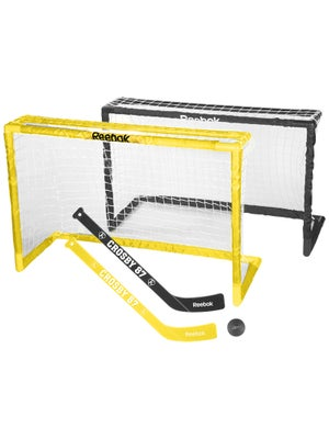 Reebok Sidney Crosby Deluxe Mini Hockey Goal Dual Set