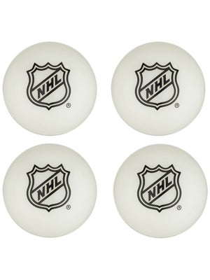 Franklin NHL Glow in the Dark Mini Hockey Balls 4-Pack