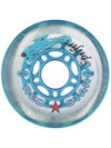 Red Star Spitfire Wheel Blue 64mm 78A