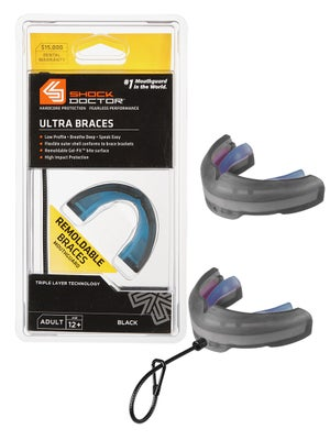 Shock Doctor Ultra Braces Mouthguards