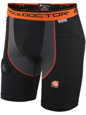 Shock Doctor Ultra Compression Hockey Jock Short Sr XS
