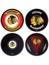 Sherwood NHL Team Hockey Puck Coasters 4-Pack