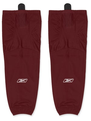 Reebok Edge SX100 Ice Socks Burgundy Sr & Int