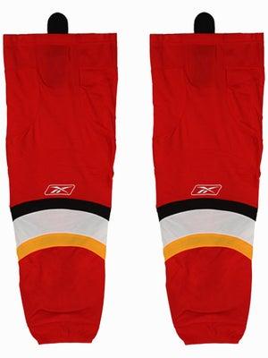 Calgary Flames Reebok Edge Hockey Socks Jr