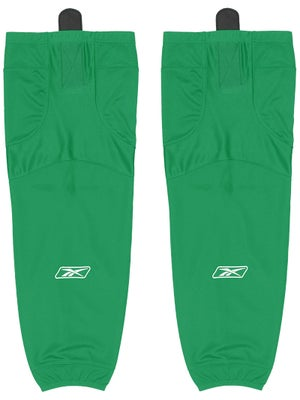 Reebok Edge SX100 Ice Socks Kelly Green Sr & Int