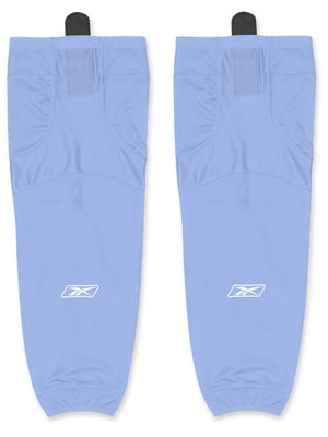 Reebok Edge SX100 Ice Socks Sky Blue Sr & Int