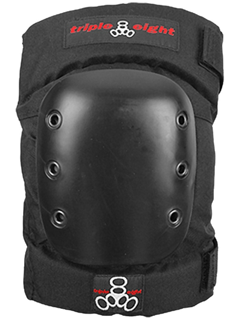 Triple Eight Street Knee Pads for Skateboarding and Roller Derby with Adjustable Straps