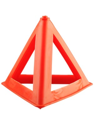 Orange Practice Triangular Pylon
