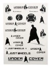 Undercover Assorted Stickers (20 Pack)