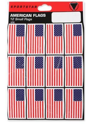 SportStar Hockey Helmet USA Flag Decal Sets