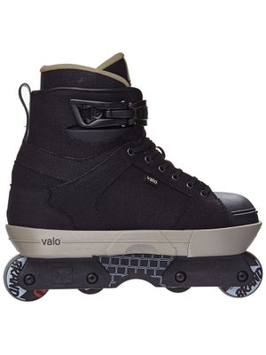 Valo TV2 Retro Black Hemp Aggressive Skates